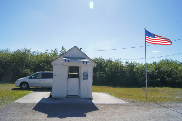 Smallest Church in America in Ochopee, Florida