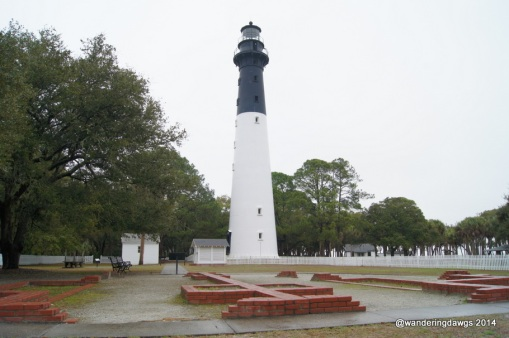 The Hunting Island, SC Lighthouse is the only lighthouse in South Carolina which is open to the public