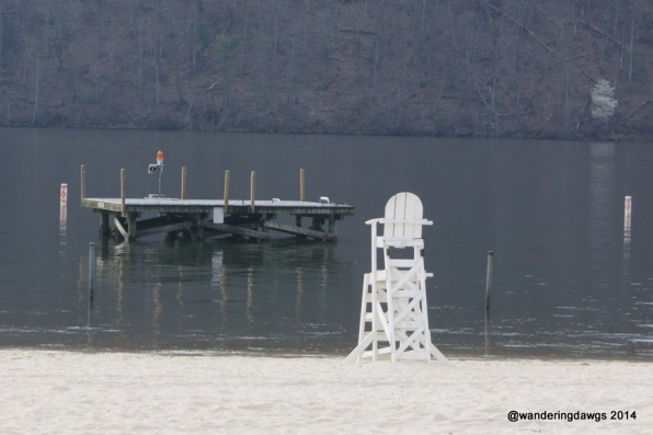 Swim platform at Claytor Lake State Park