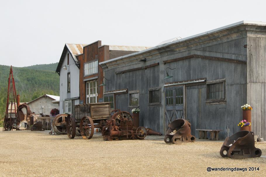 Gold Mining Relics in Fairbanks, Alaska