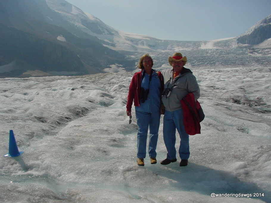 Columbia Icefields, Jasper National Park, Alberta, Canada