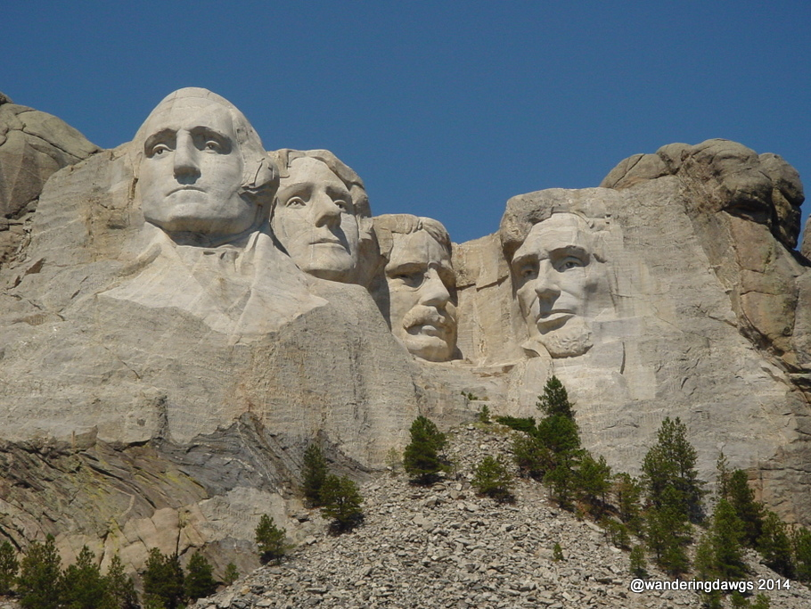 Mount Rushmore National Monument in the Black Hills of South Dakota