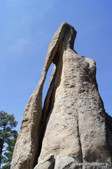 Needle's Eye on Needles Highway in Custer State Park