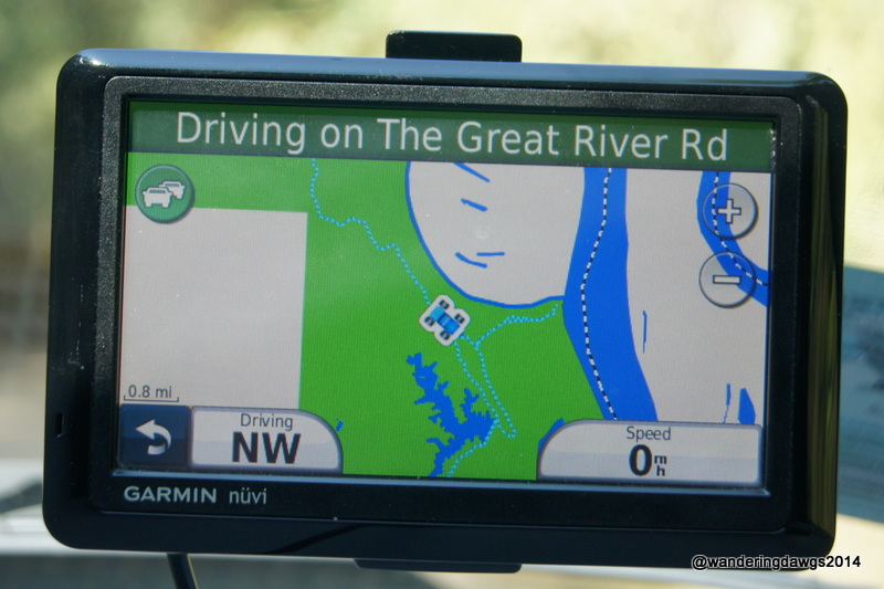 Driving on the Great River Road