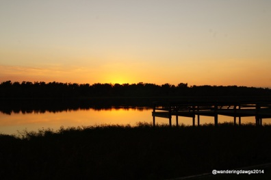 Sunset at Lake Chicot