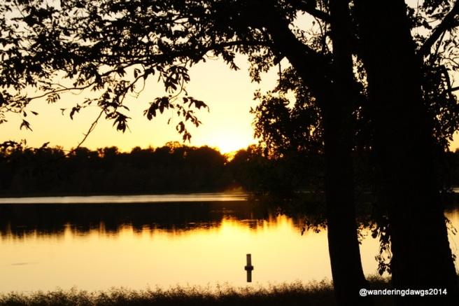 Sunset at Lake Chicot