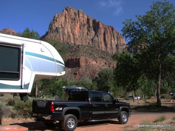 Watchman Campground, Zion National Park, Utah