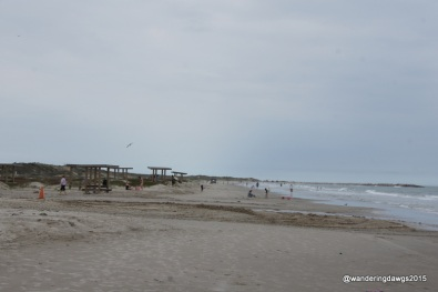Beach at Mustang Island State Park