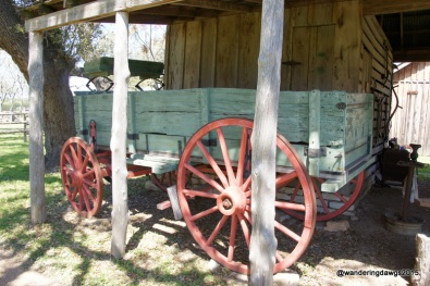 Buckboard used by the Pound family