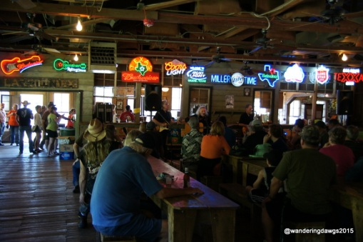 Gruene Hall on a Sunday afternoon
