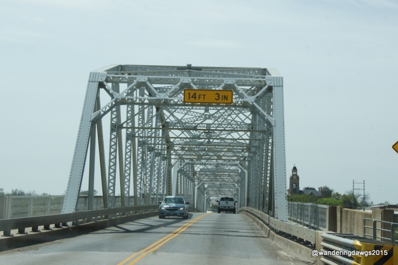 Llano River Bridge in Llano