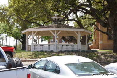 Gazebo in Llano, Texas