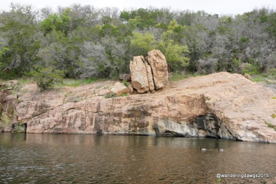 Deil's Waterhole on Inks Lake