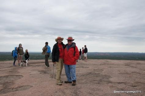 At the Summit of Enchanted Rock