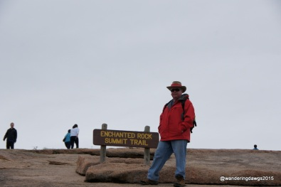 We hiked the Enchanted Rock Summit Trail