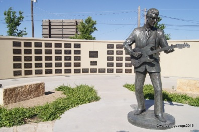 Buddy Holly Statue and West Texas Hall of Fame