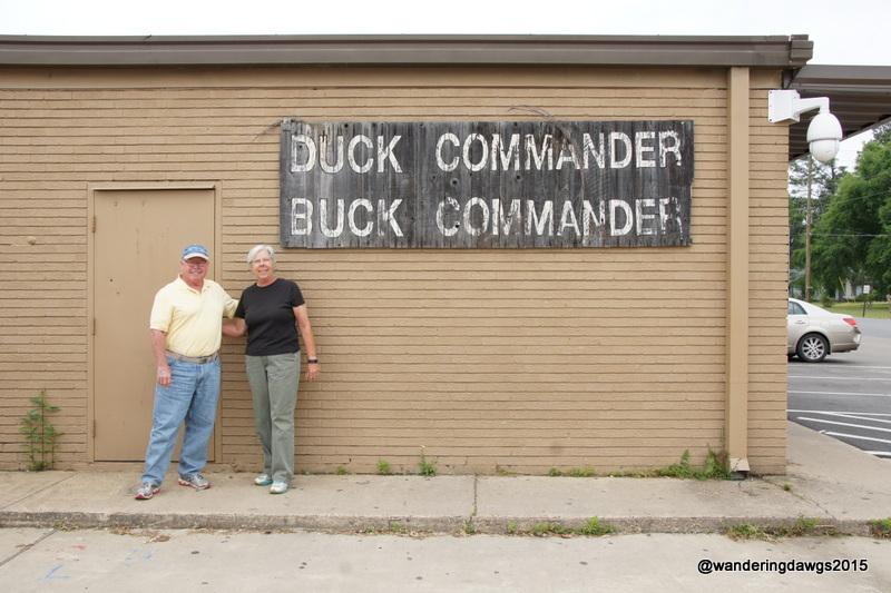 Duck Commander Headquarters, about 3 blocks south of I-20 in West Monroe, LA