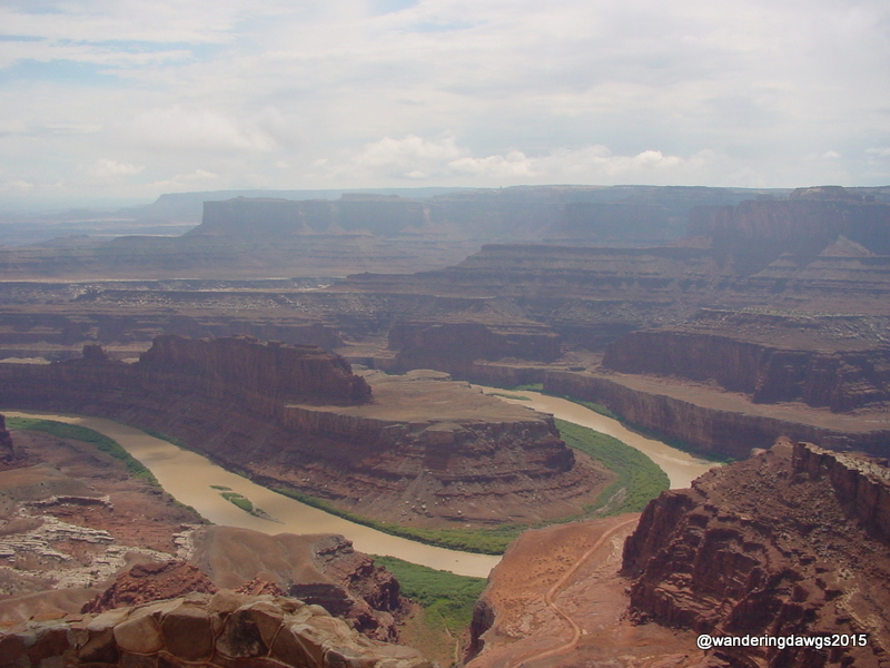 Thelma and Louise drove into the Canyon at Dead Horse Point State Park