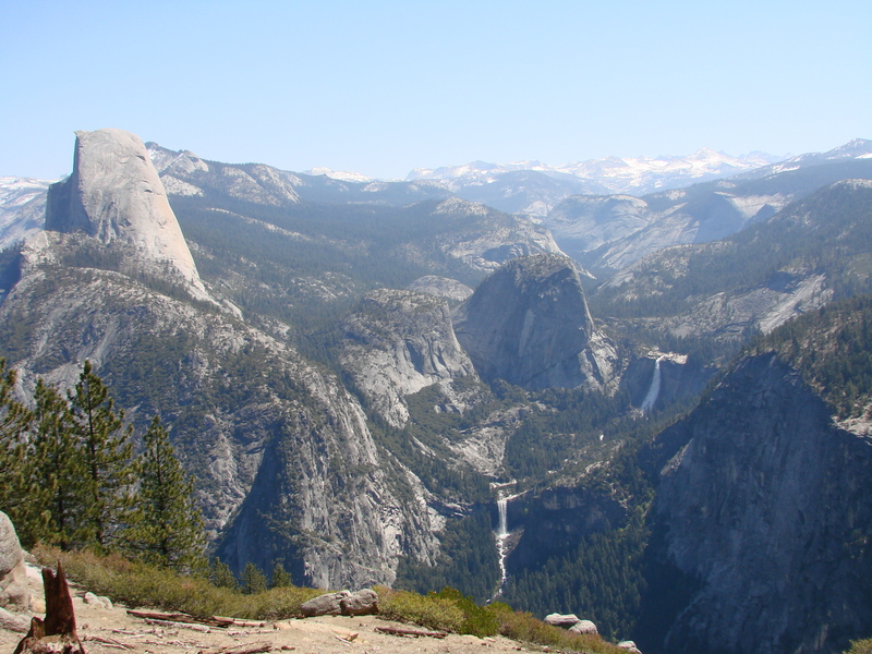 We took a drive on Glacier Point Road in Yosemite National Park, California