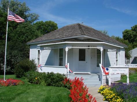 John Wayne's birthplace in Winterset, Iowa