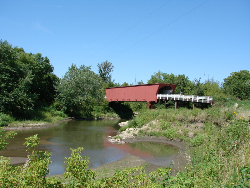 Roseman Covered Bridge, one of the Bridges of Madison County, Iowa