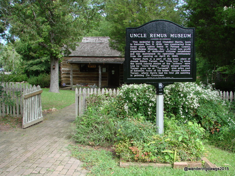 Uncle Remus Museum honoring author Joel Chandler Harris in Eatonton, Georgia