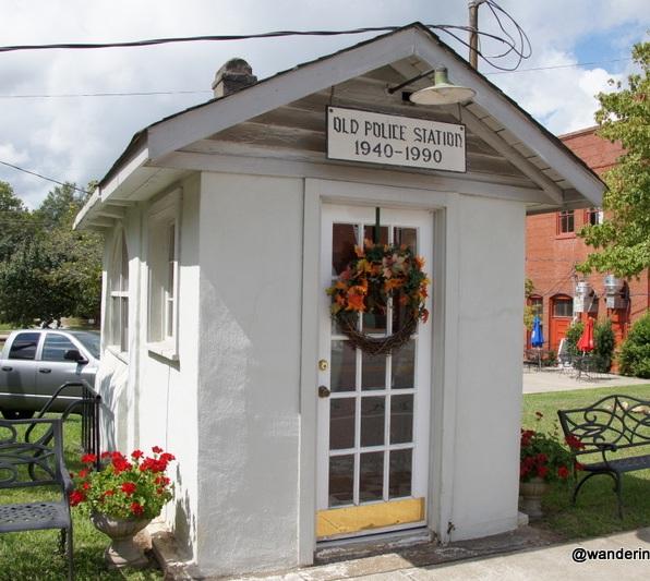 Old Police Station in Ridgeway, South Carolina