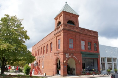 Old Town Hall in Ridgeway, South Carolina