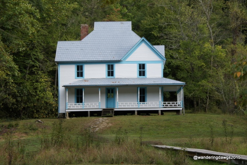 Caldwell Place in Cataloochee Valley