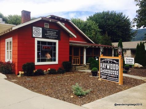 Heywood Smokehouse in Waynesville, NC