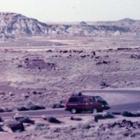 Our first cross country camping trip - in 1985!