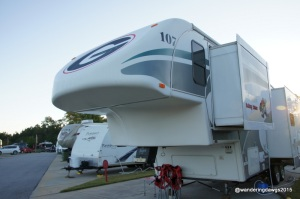 Our fifth wheel has a new look