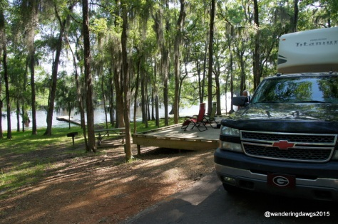 Waterfront Camping at Lake Bistineau State Park, Doyline, Louisiana