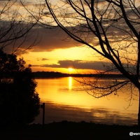 Sunsets, Geocaching, and Exploring around Eastbank Campground