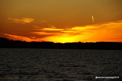 Final Sunset over Lake Seminole