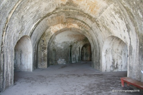 Arches at Fort Pickens