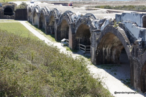 Another view of the arches at Fort Pickens