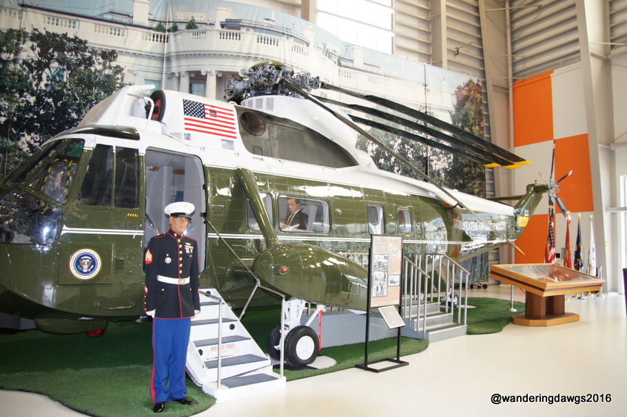 Marine 1 used by President Nixon