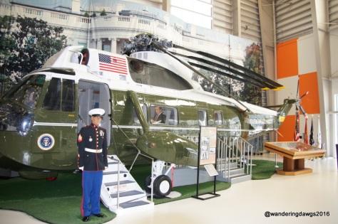 Marine 1 used by President Nixon