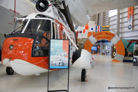 Helicopter from the U. S. Coast Guard