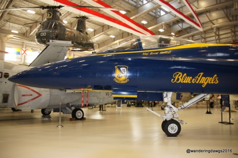 Up close with one of the Blue Angels