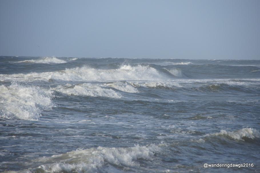The seas were getting rough