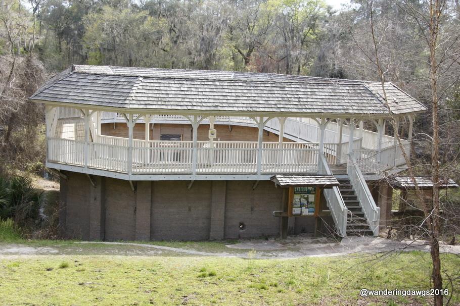 Spring House at White Springs, Florida