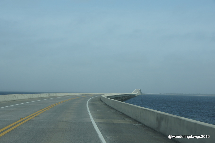 Curve in Garcon Point Bridge, Florida