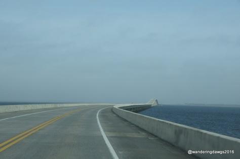 Curve in Garcon Point Bridge, Florida