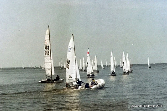 1996 Olympic 470 yachting race