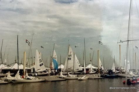 1996 Olympics Yachting Day Marina in Wassaw Sound near Savannah, Georgia