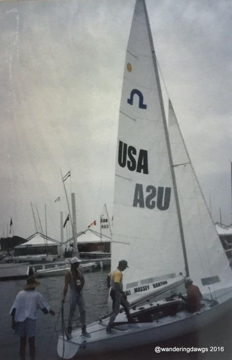 USA Atlanta Olympics Bronze Medal Soling