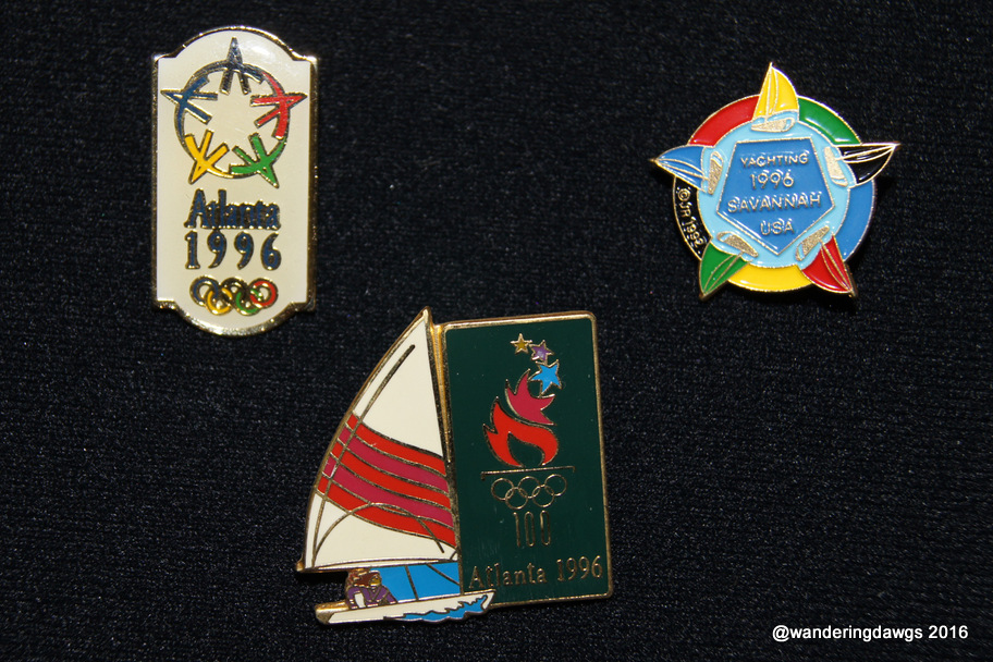 1986 Olympic Pins