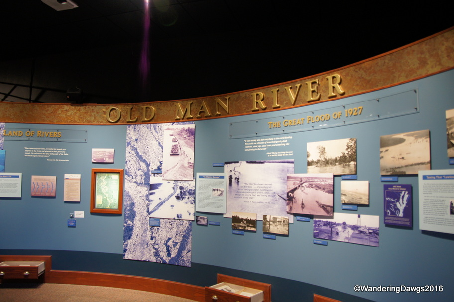 Old Man River Display at The Depot